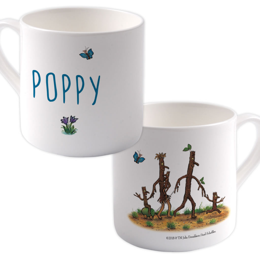 Stick Family  Personalised Large Bone China Mug