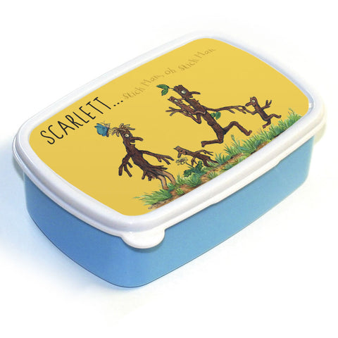 Stick Man Family Personalised Lunch Box