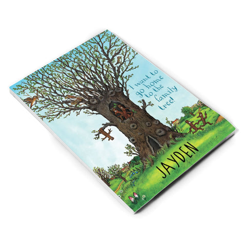 Family Tree Personalised A5 Notepad