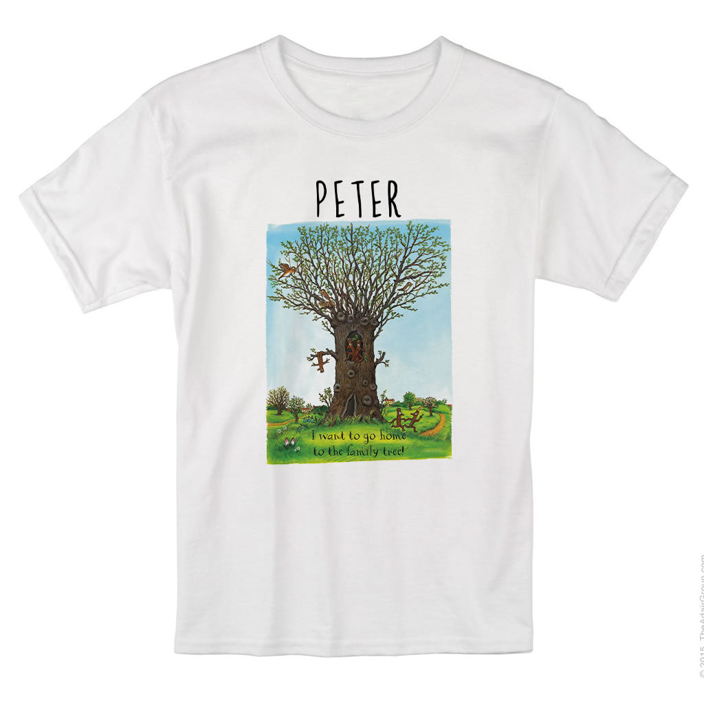 Family Tree Personalised T-shirt
