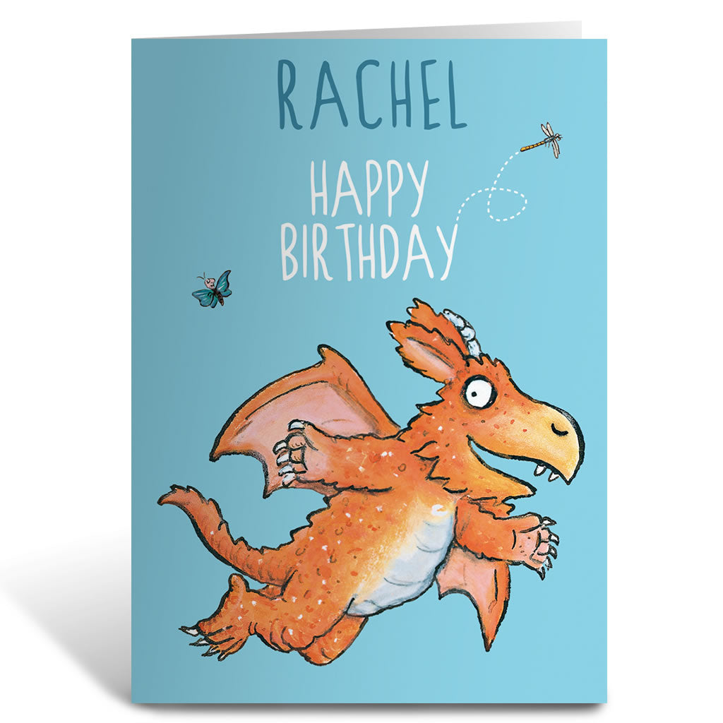 Zog Personalised Greeting Card