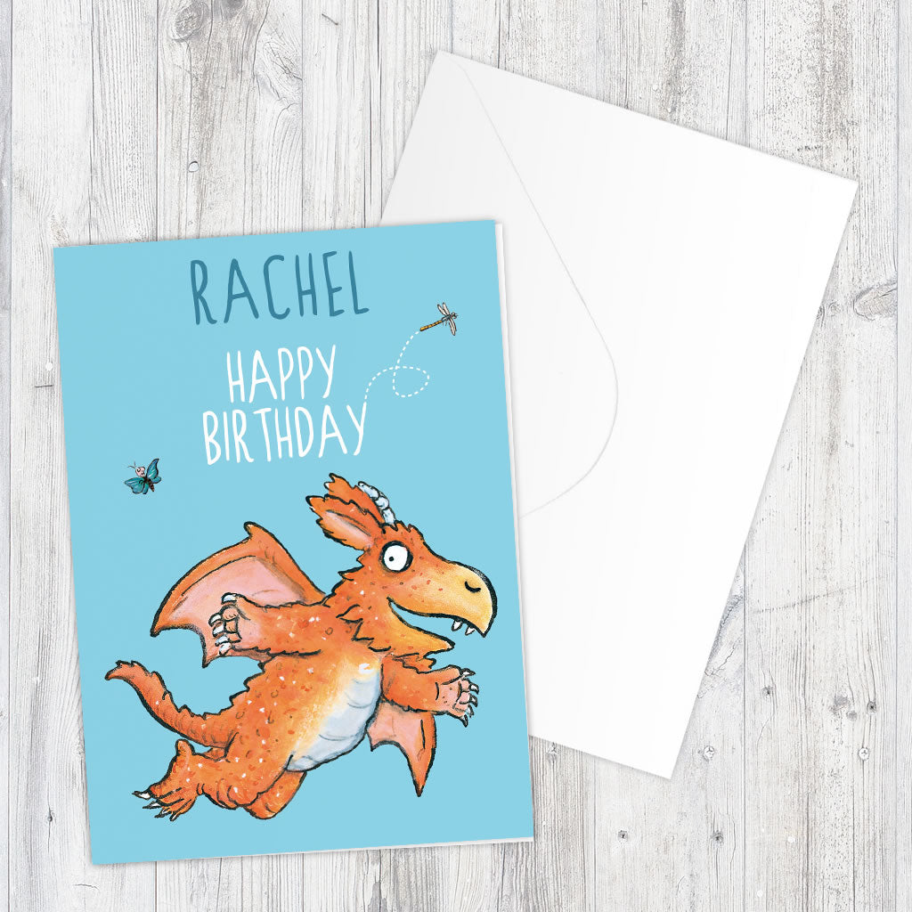 Zog Personalised Greeting Card (Lifestyle)