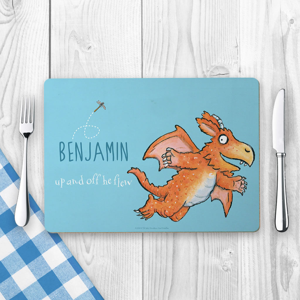 """What a good idea!"" Zog Personalised Placemat (Lifestyle)"