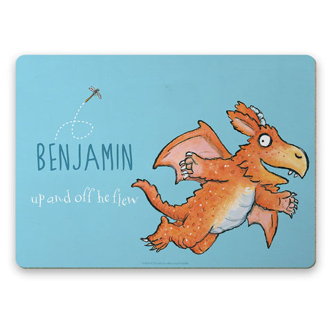 Zog and Friends Zog Personalised Placemat