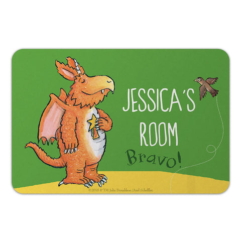 """Bravo"" Zog Personalised Door Plaque"