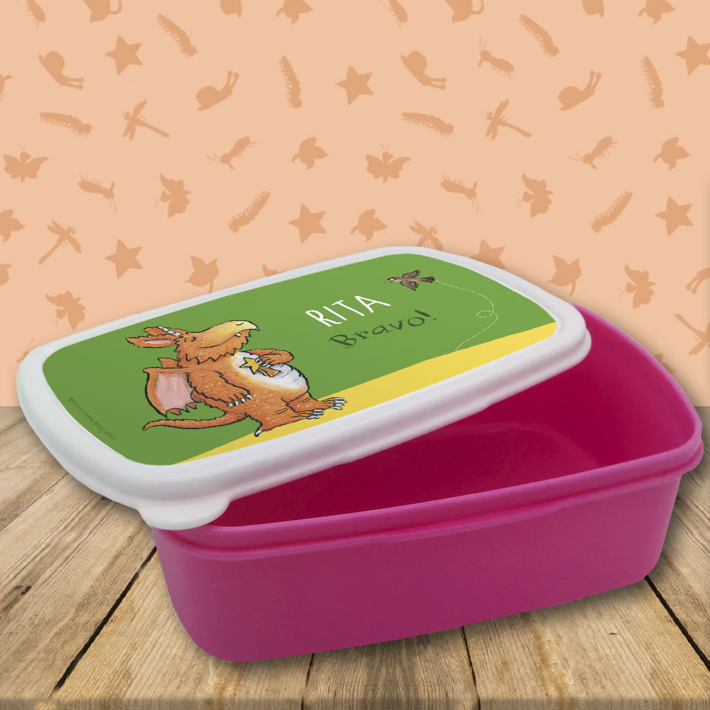 """Bravo"" Zog Personalised Lunchbox (Lifestyle 1)"