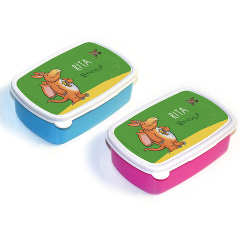 """Bravo"" Zog Personalised Lunchbox"