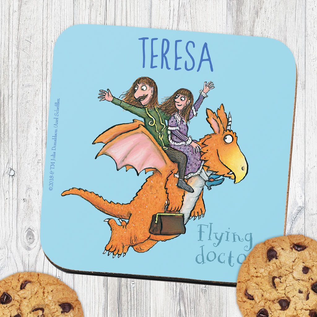 Flying Doctors! Zog Personalised Coaster (Lifestyle)