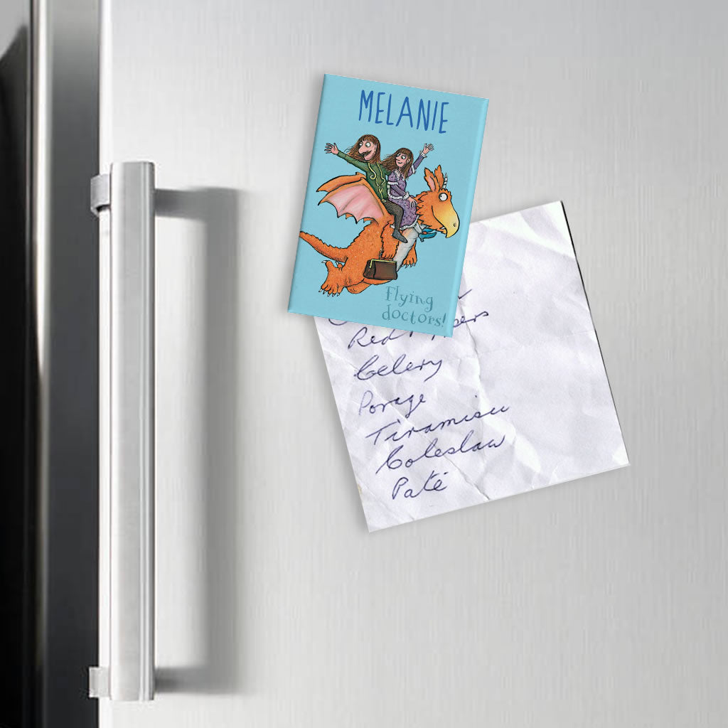 Flying Doctors! Zog Personalised Magnet (Lifestyle)