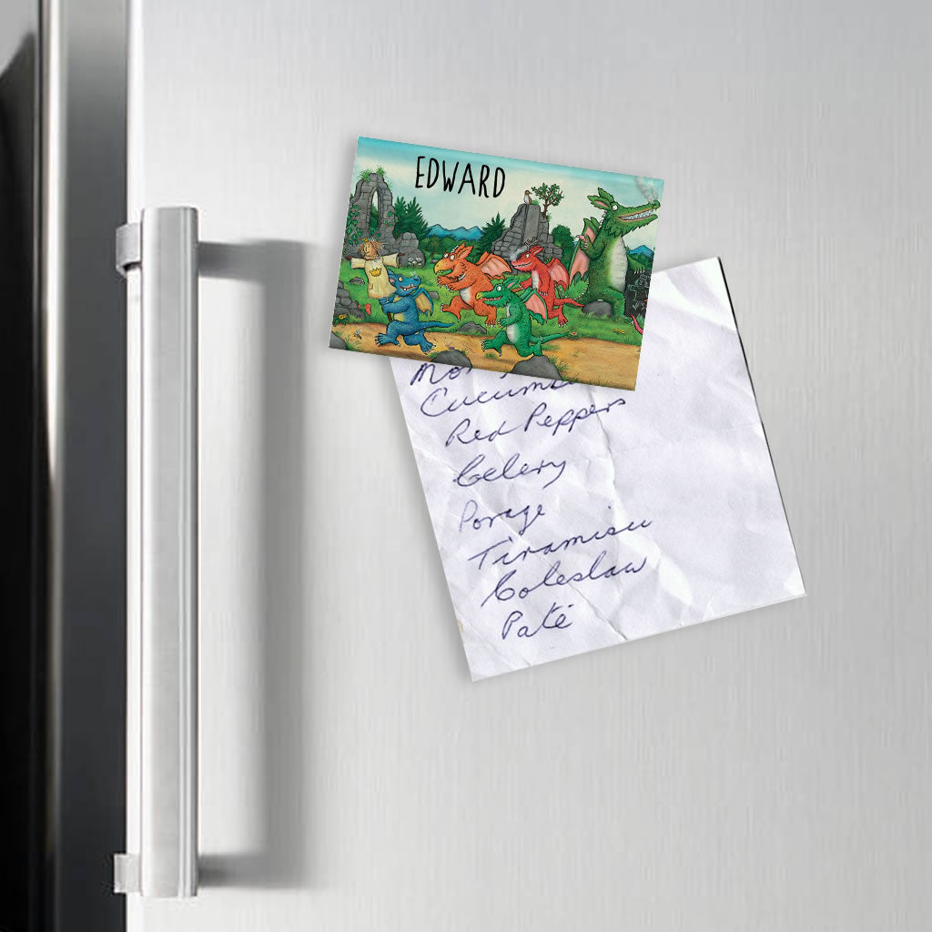 Zog and Friends Zog Personalised Magnet (Lifestyle)