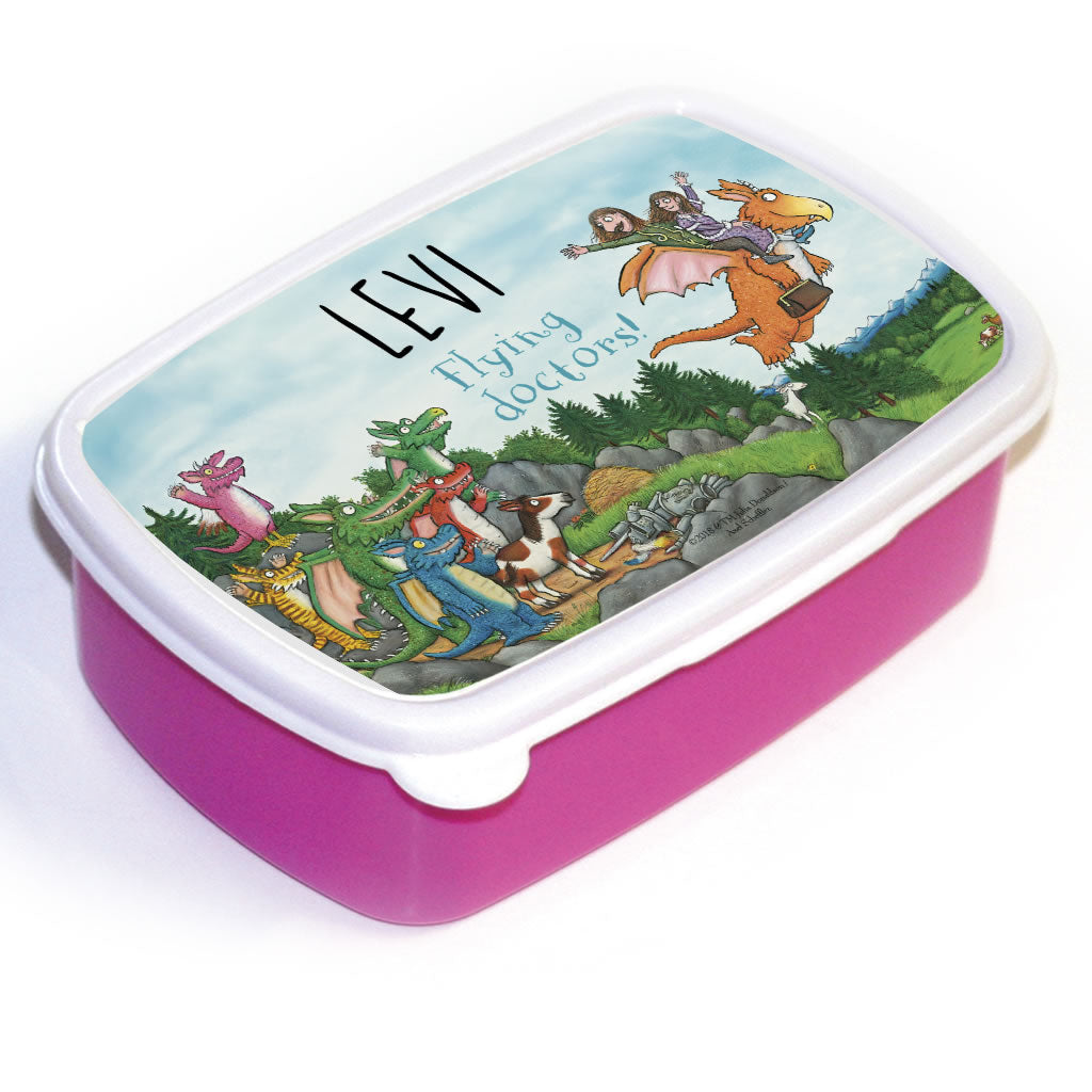 Flying Doctors! Zog Personalised Lunchbox