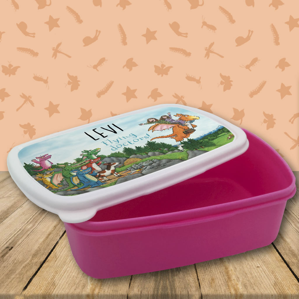 Flying Doctors! Zog Personalised Lunchbox (Lifestyle 1)