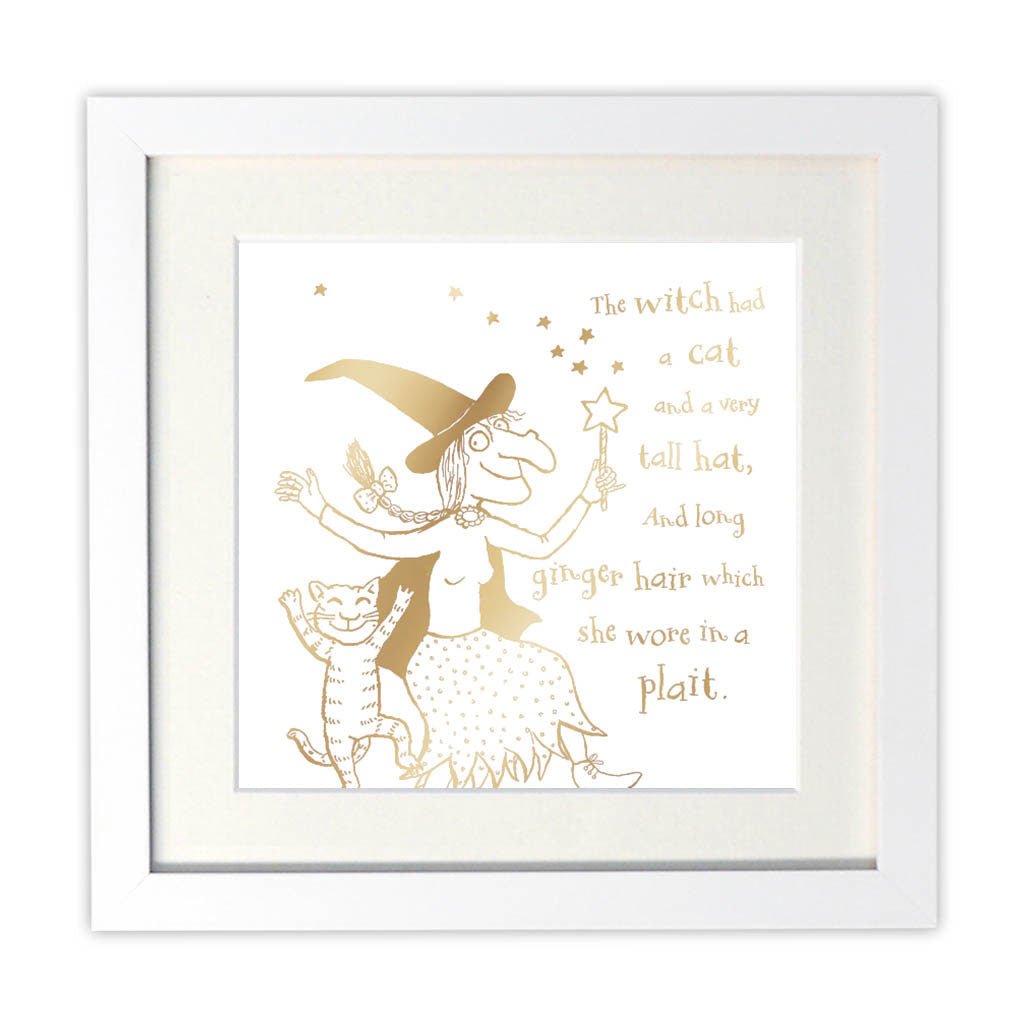 Room on the Broom Foil Art Print