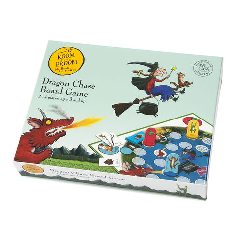 Room on The Broom Dragon Chase Board Game Toy