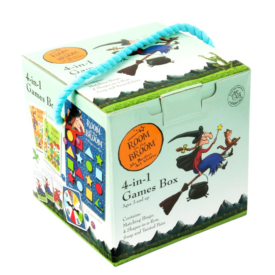 Room on the Broom Games Cube Toy