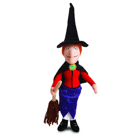 Room on the Broom Witch with Broom Plush Plush