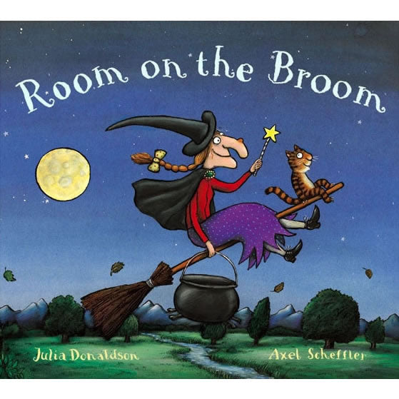 Room on the Broom softcover Book
