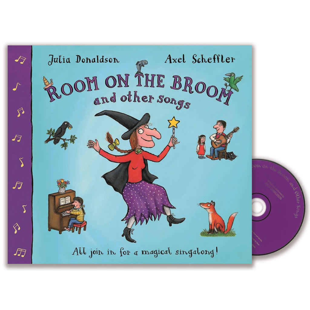 Room on the Broom and other songs  Book