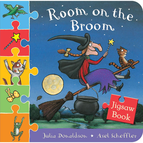 Room on the Broom Jigsaw Book Book