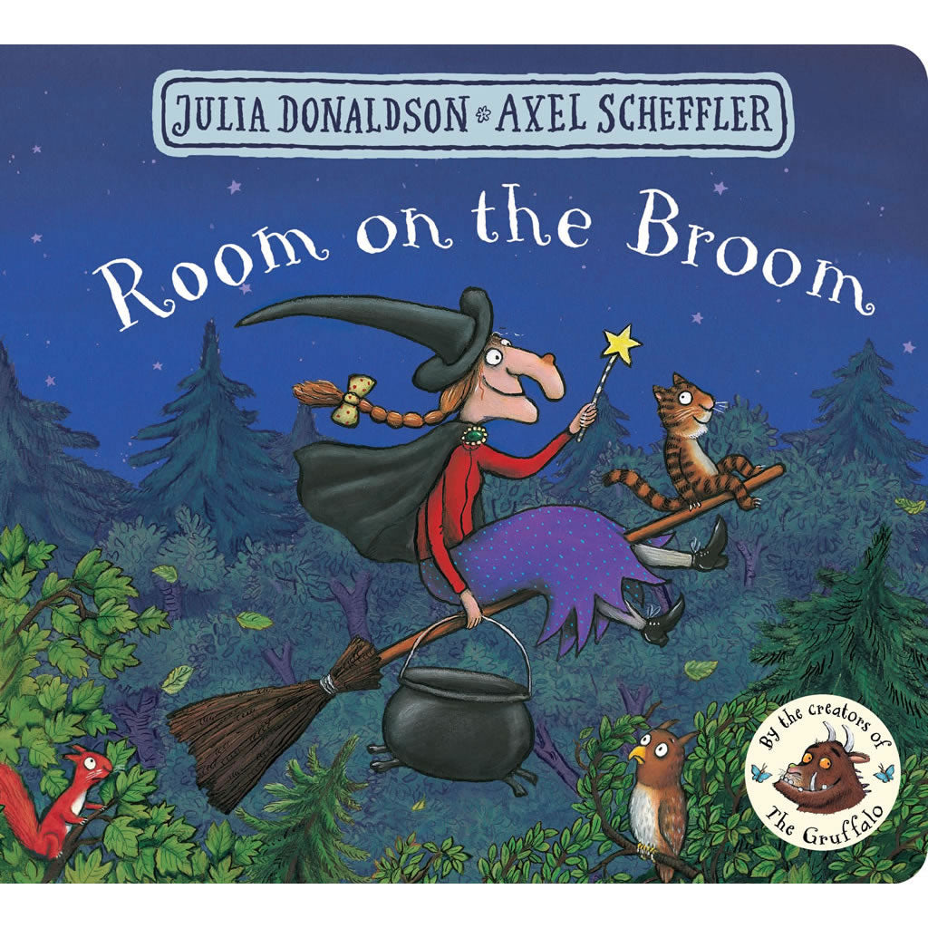 Room on the Broom (Board Book) Book