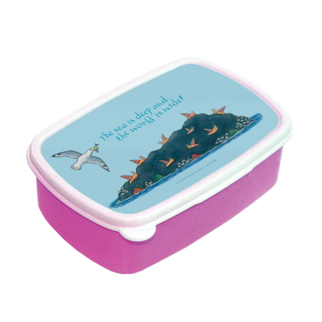 The sea is deep and the world is wide! Lunch Box