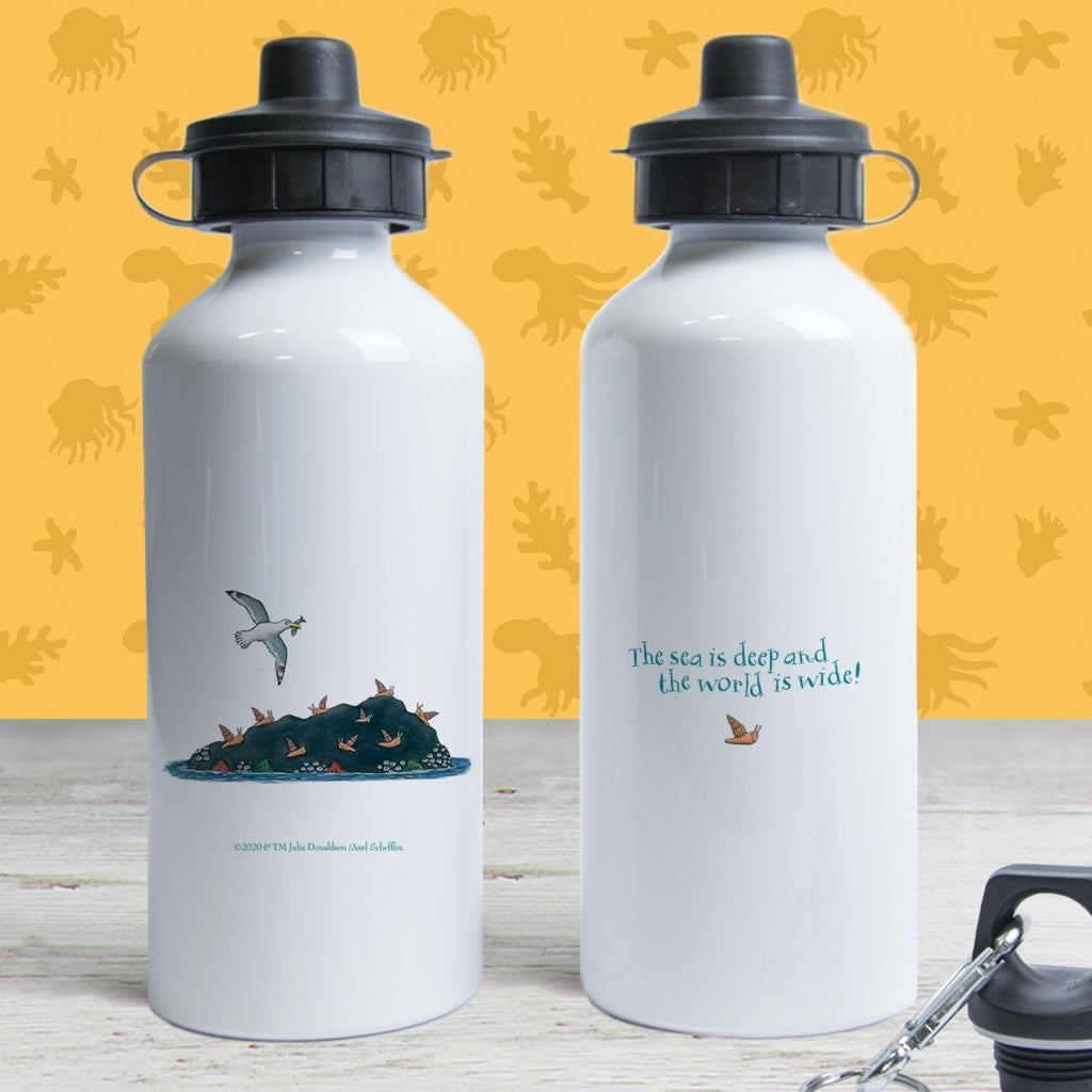 The sea is deep and the world is wide! Water Bottle 2