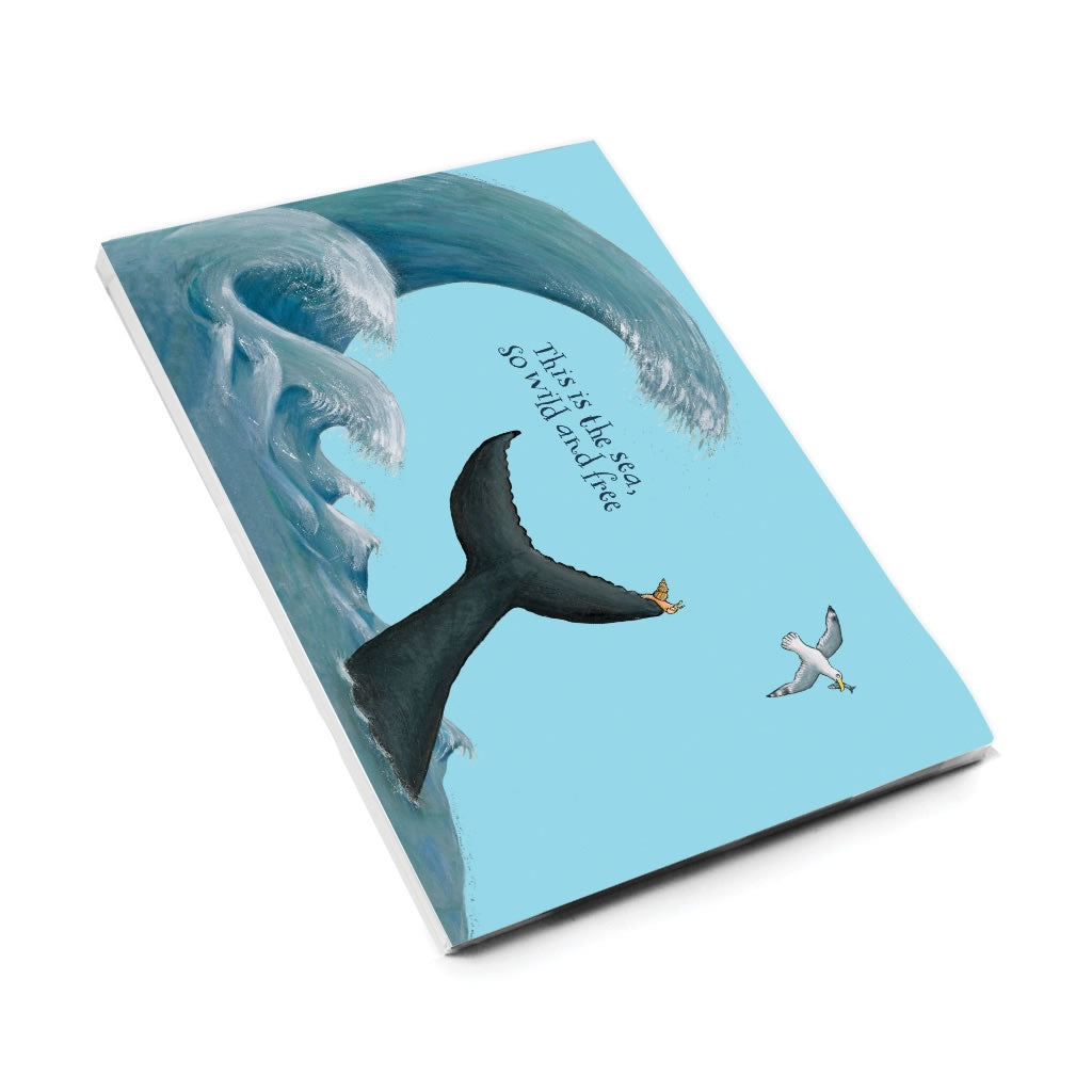 This is the sea A5 Notepad