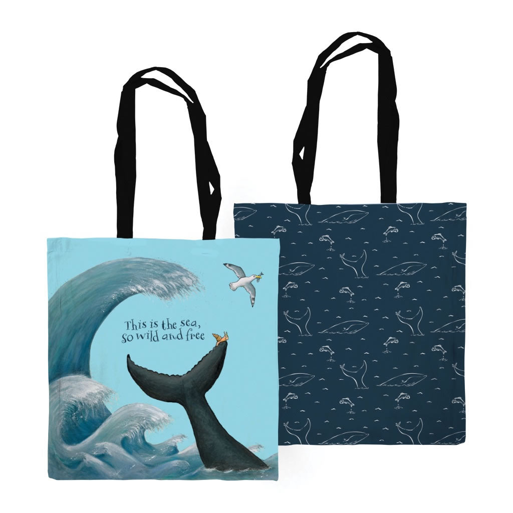 This is the sea Edge to Edge Tote Bag