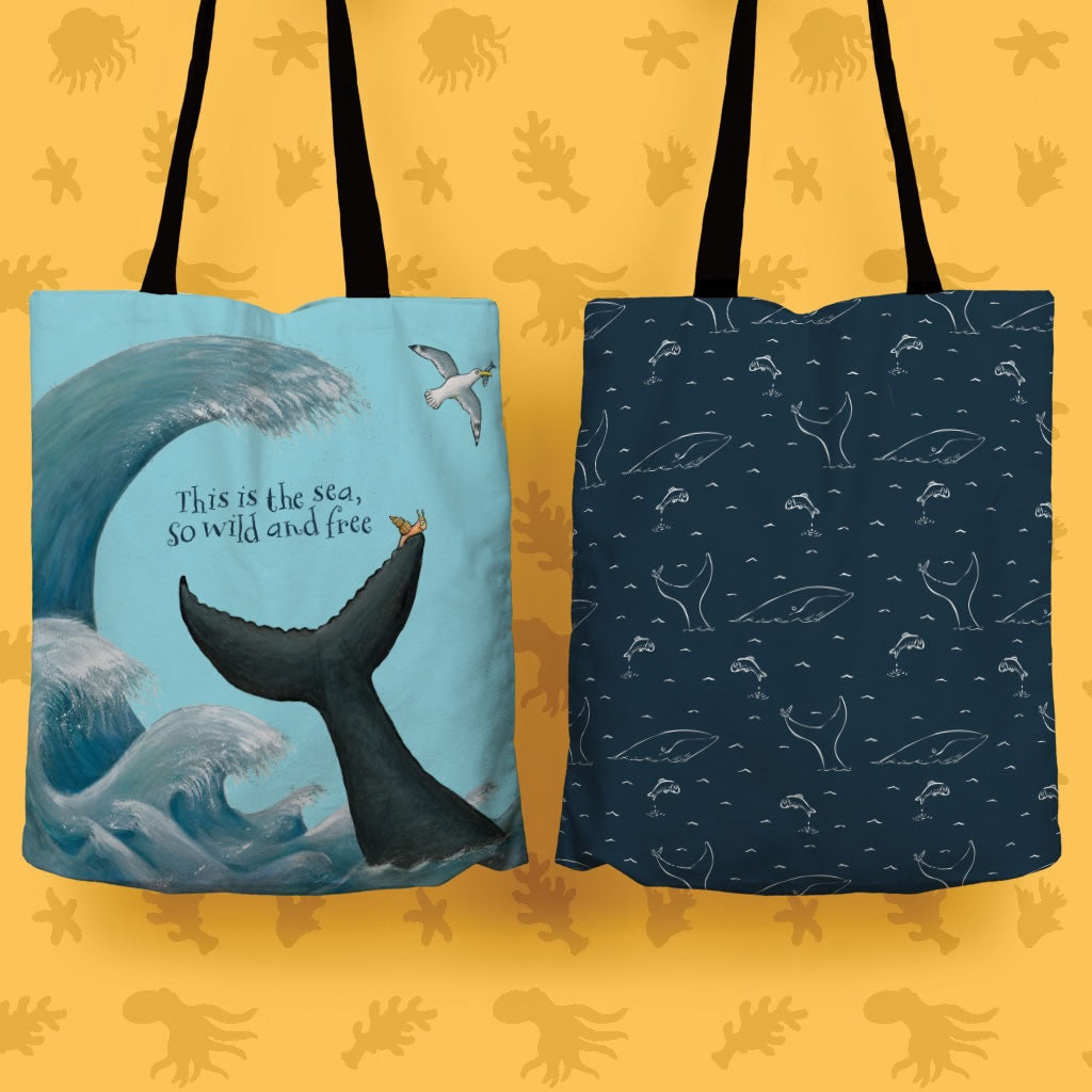 This is the sea Edge to Edge Tote Bag 2
