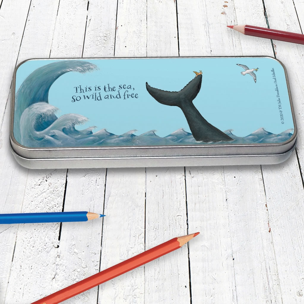 This is the sea Pencil Tin 2