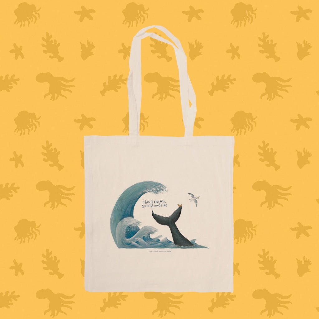 The is the sea Tote Bag