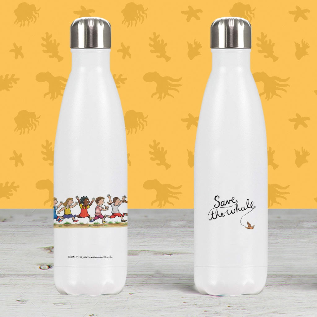 Save the whale! Premium Water Bottle 2