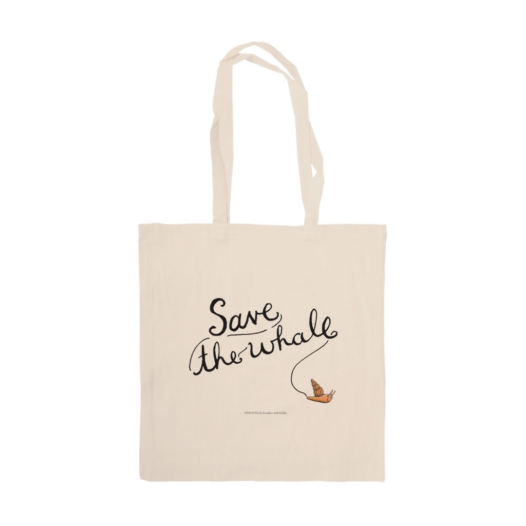 Save the whale! Tote Bag