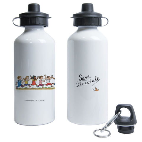 Save the whale! Water Bottle