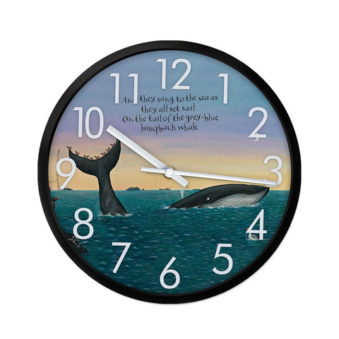 They all set sail Clock