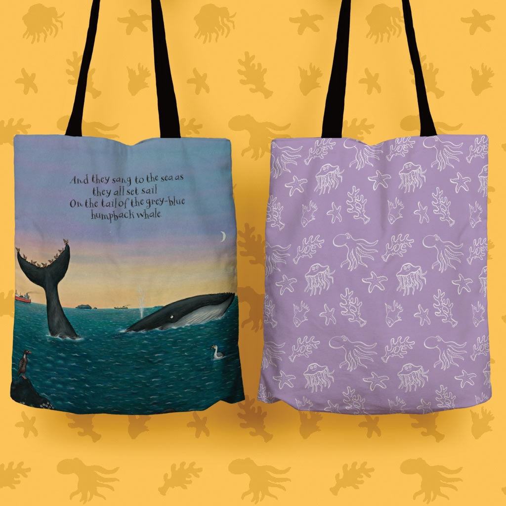They all set sail Edge to Edge Tote Bag 2