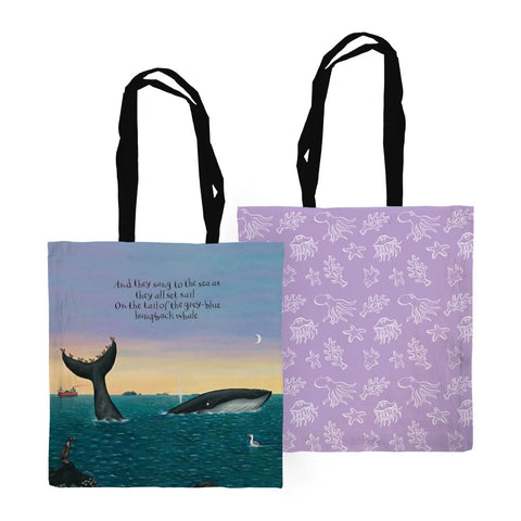The Snail and the Whale - Edge to Edge Totes