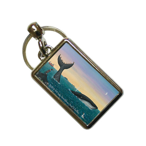 The Snail and the Whale - Metal Keyrings