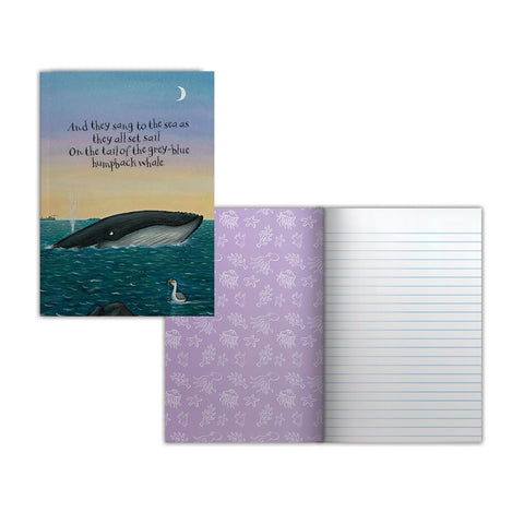 They all set sail Perfect Bound Notebook