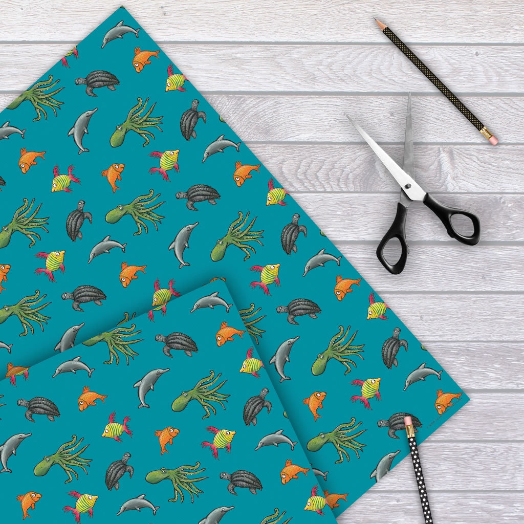 snail and the whale Gift Wrap
