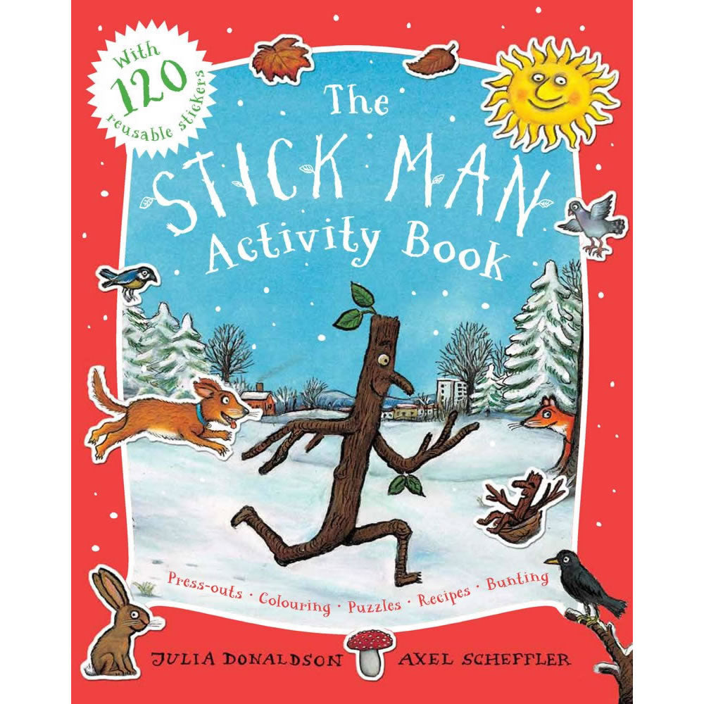 Stick Man Sticker Activity Book Book