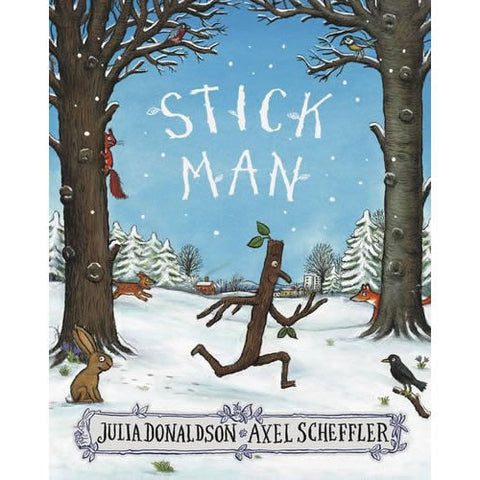 Stick Man Book (Paperback) Book