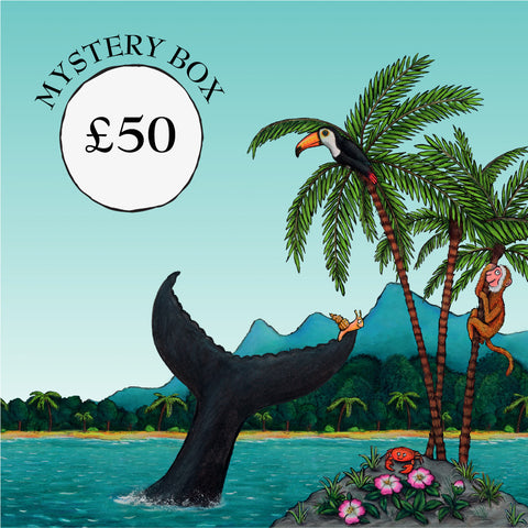 The Snail and the Whale Mystery Gift Box - £50
