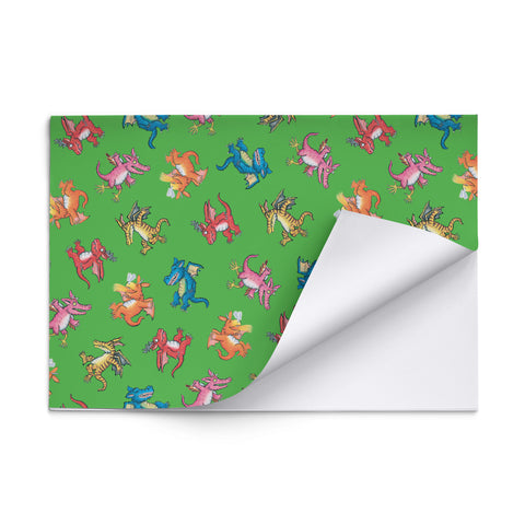Zog 'Dragons' Gift Wrap