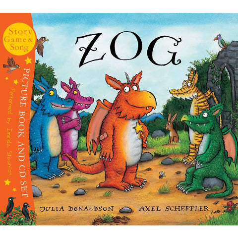 Zog Book and CD Boxset  Book