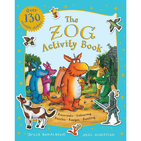 Zog Sticker Activity Book Book