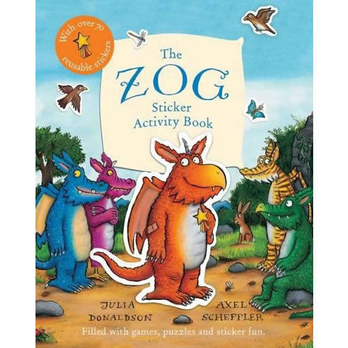 Zog Sticker Book Book