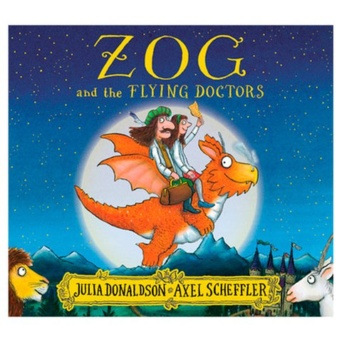 Zog and the Flying Doctors Book (Softcover)