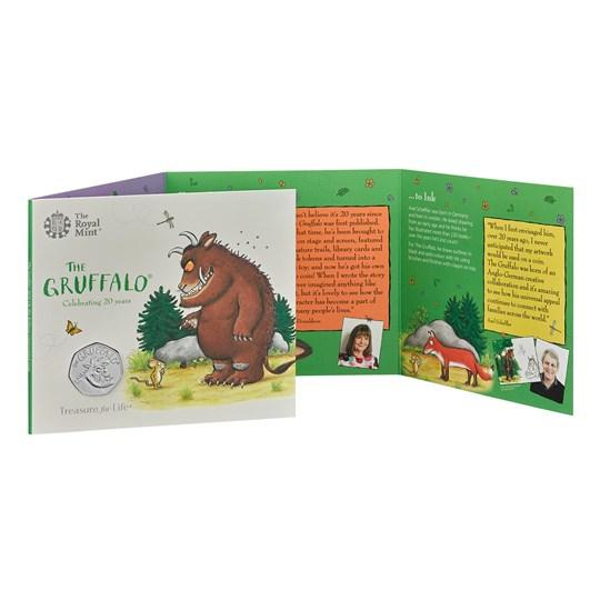 official royal mint gruffalo coin