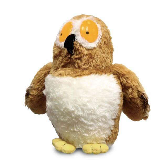 gruffalo owl soft toy